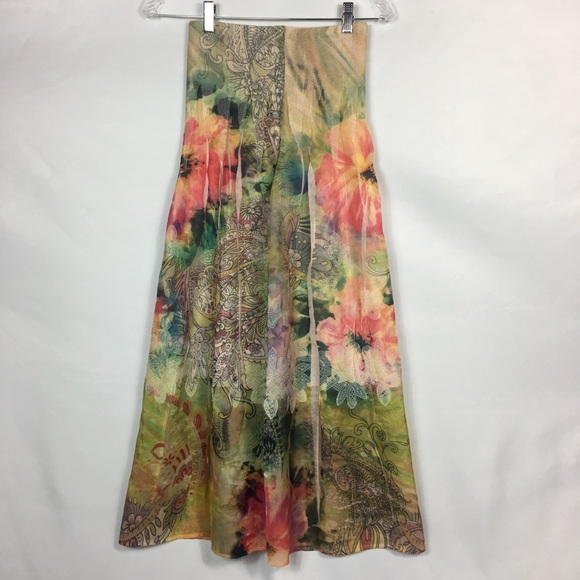 91d78cce27 Anthropologie Dresses | Lapis Floral Pleated Skirtdress | Poshmark